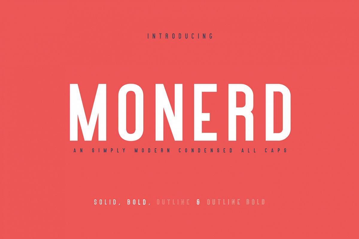 Monerd - Simply Sans Serif example image 1