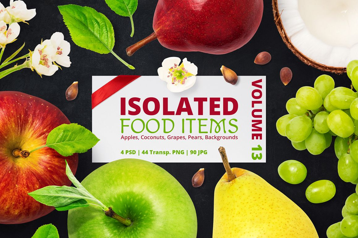 Isolated Food Items Vol.13 example image 1