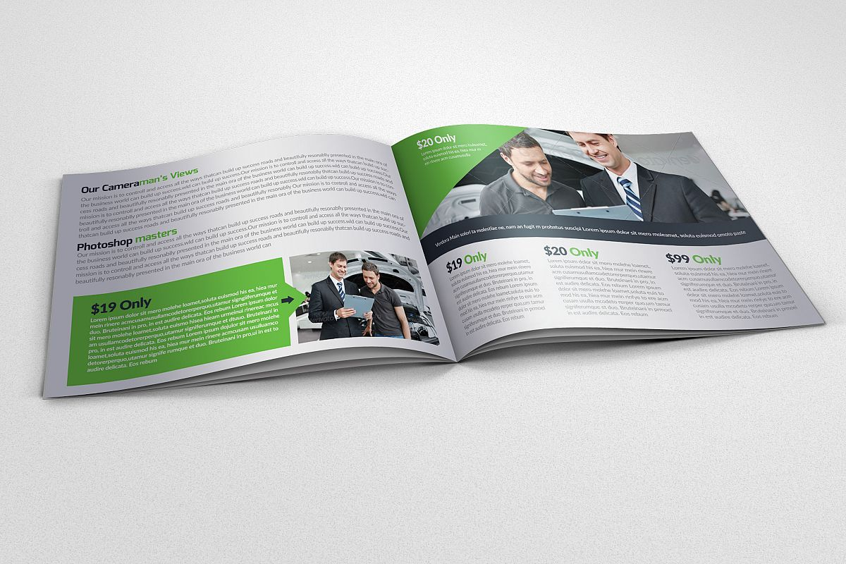 Business Innovation Bifold Brochure example image 1