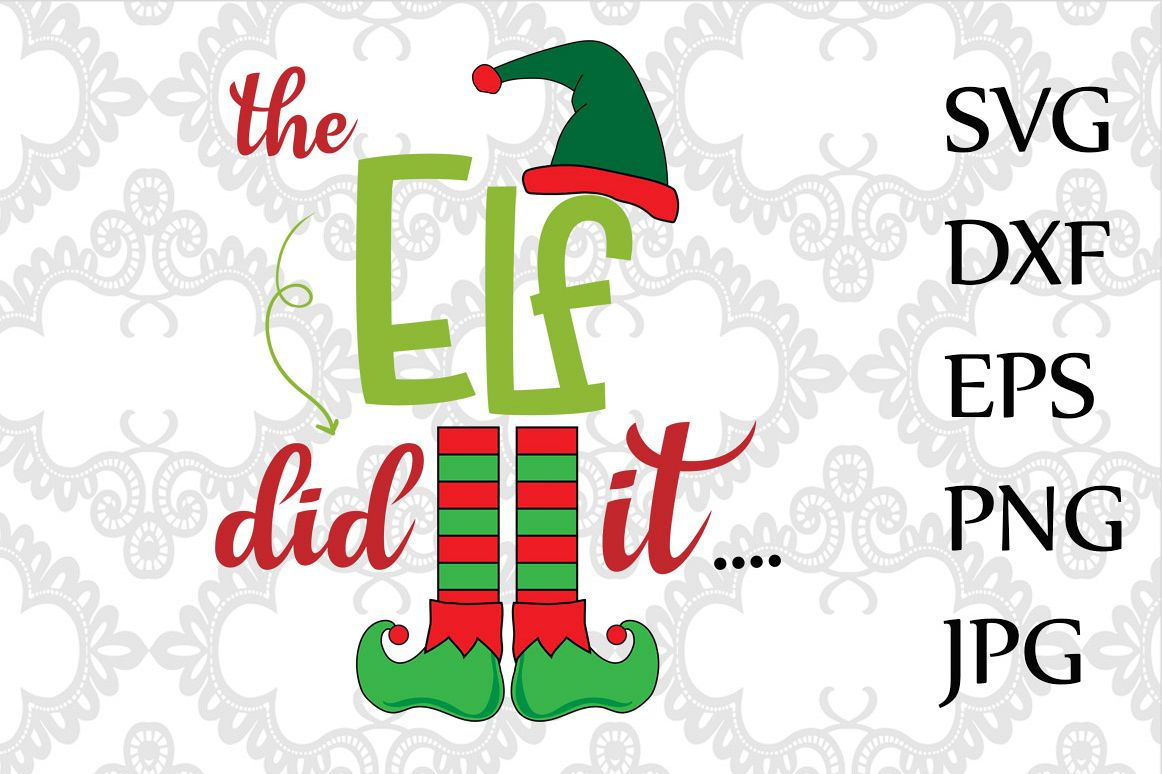 The elf did it SVG example image 1