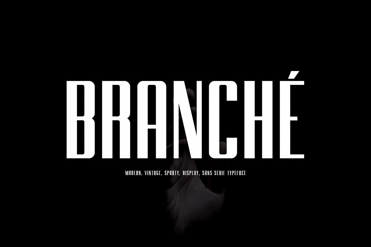 BRANCHE - Display Font example image 1