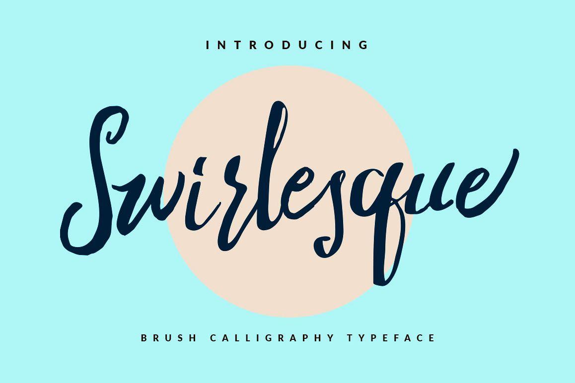Swirlesque Typeface example image 1