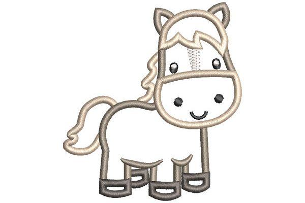 Horse Applique example image 1