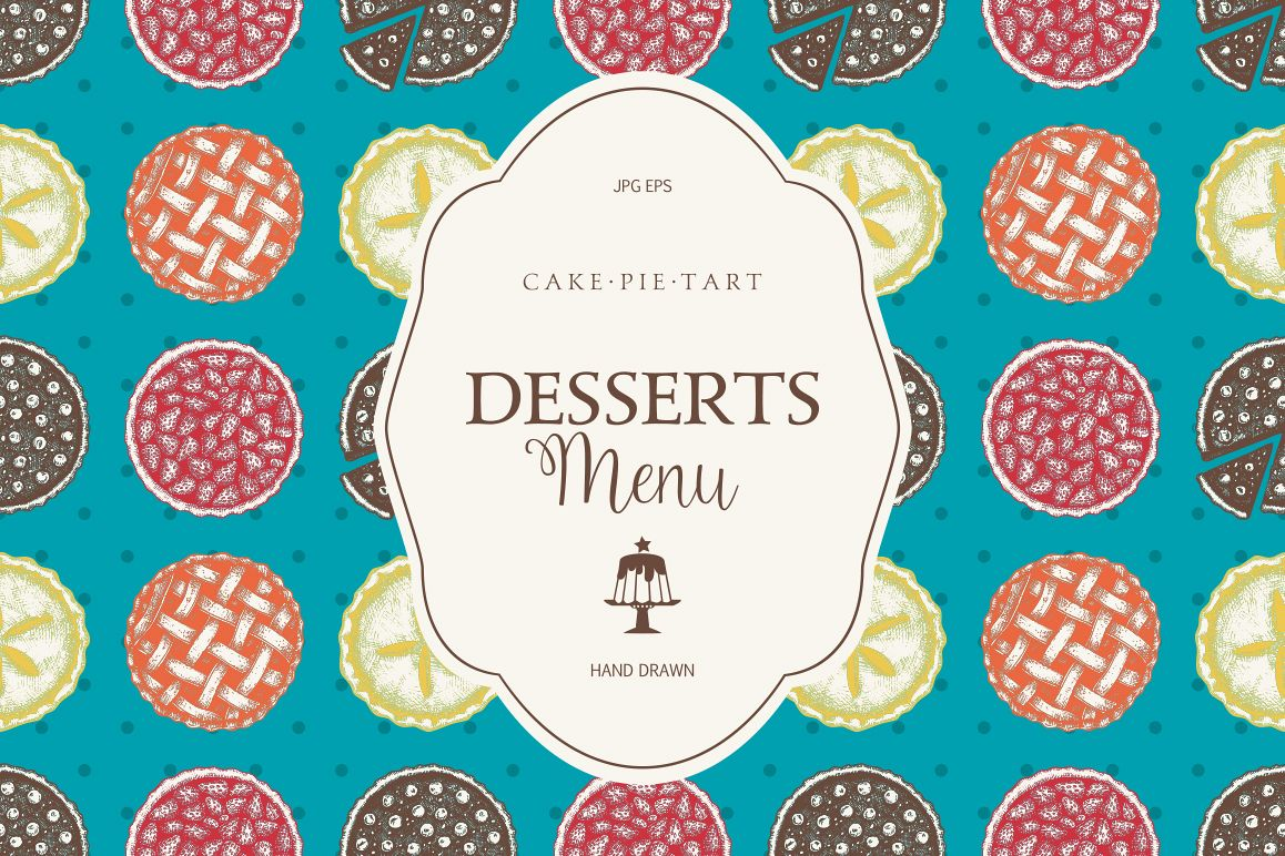 Sweet Bakery Menu example image 1