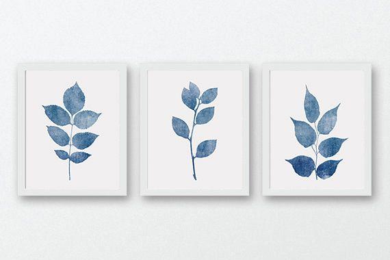 navy blue wall art botanical wall art design bundles