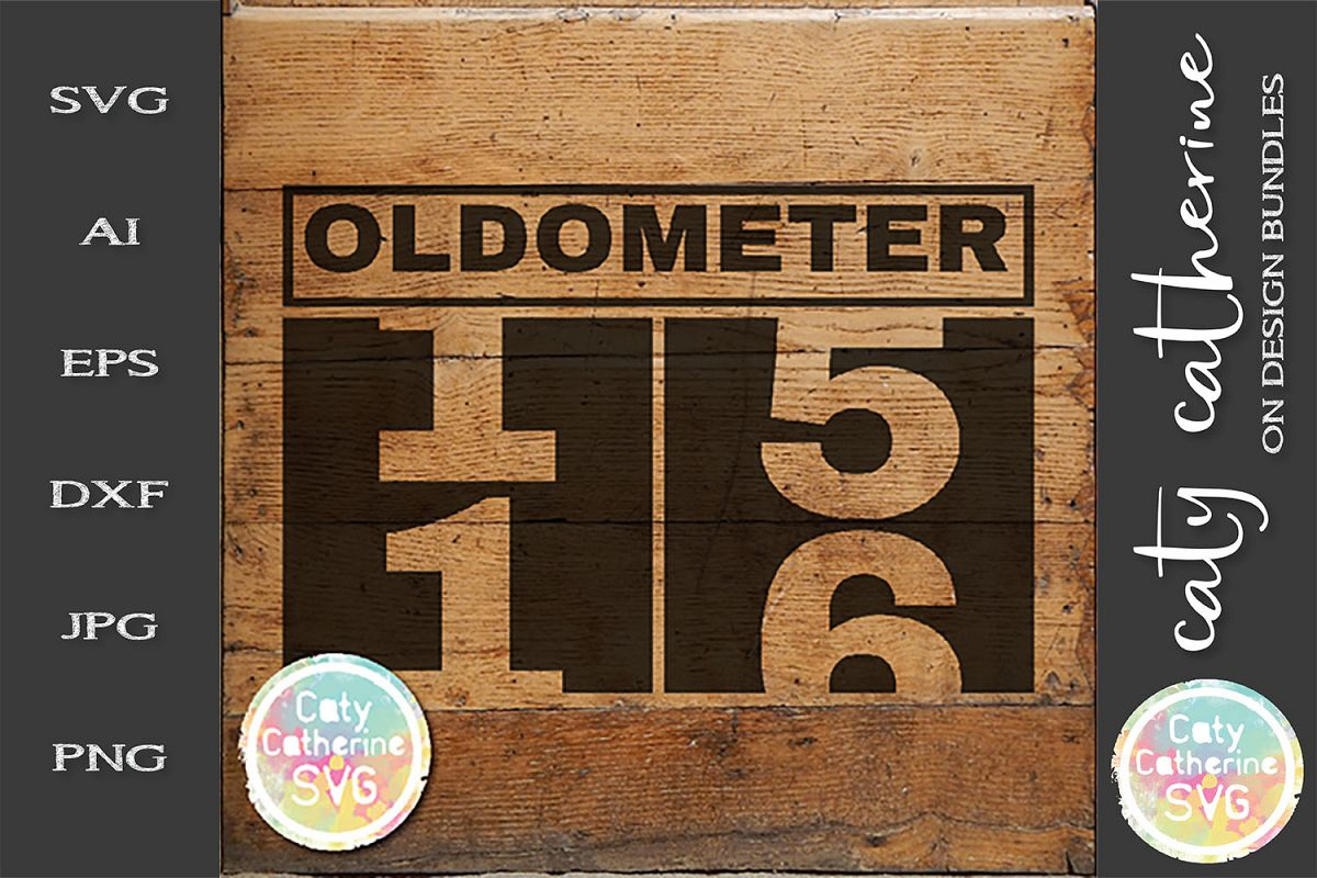 16 Sixteen Birthday Oldometer SVG Cut File example image 1