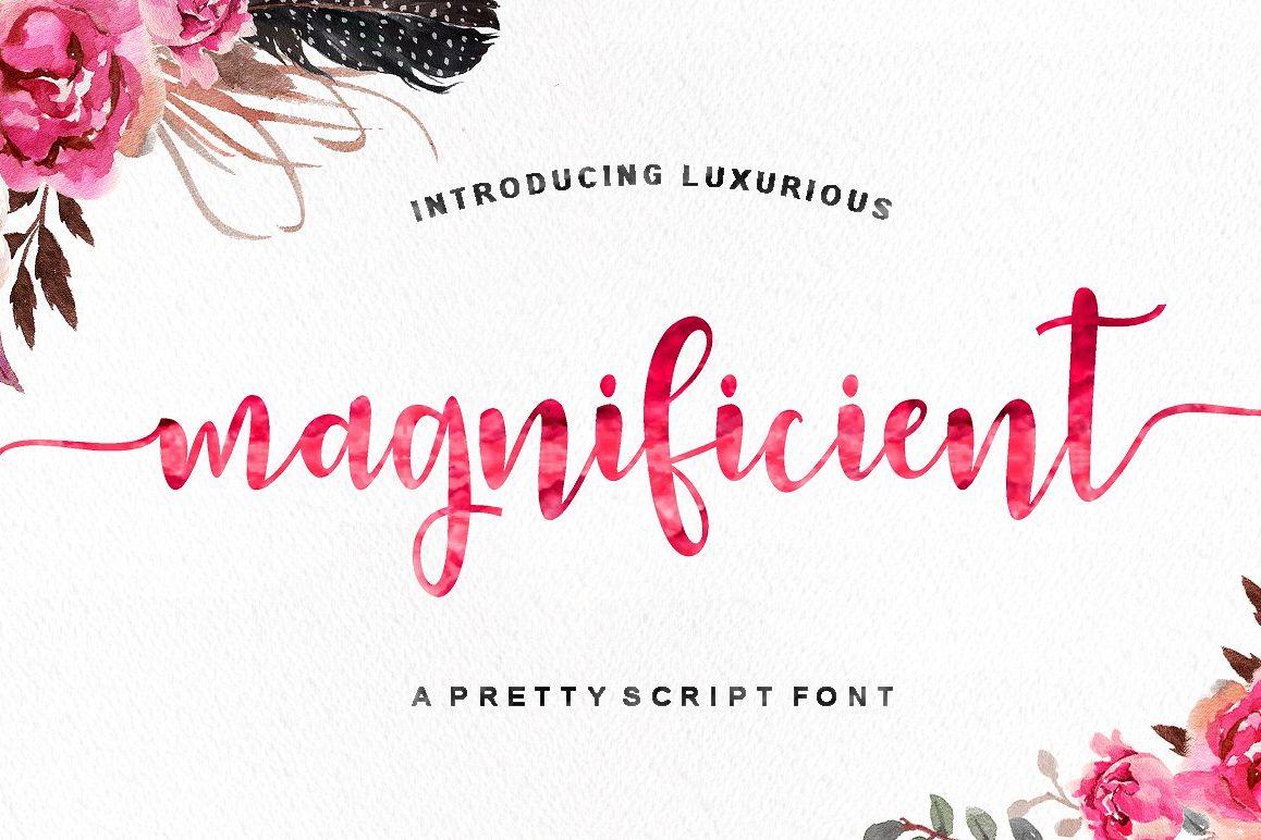 Magnificient Script example image 1