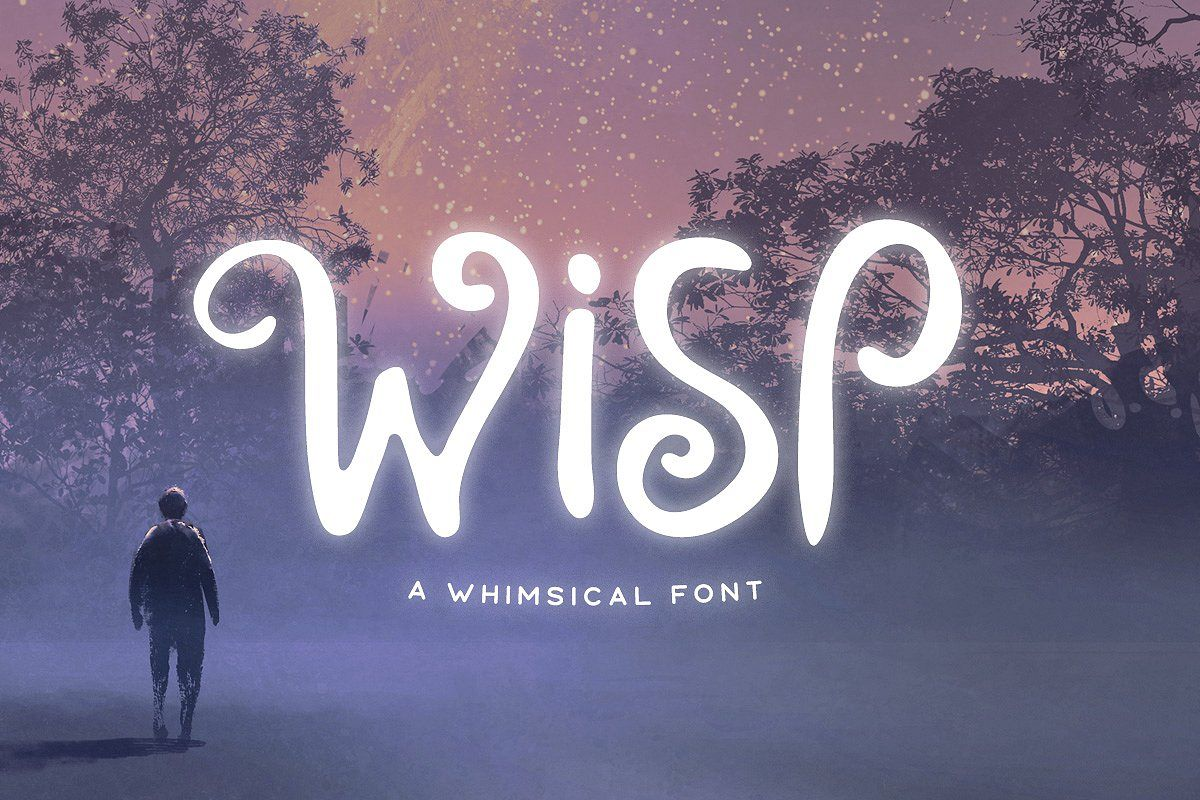 Wisp Typeface example image 1