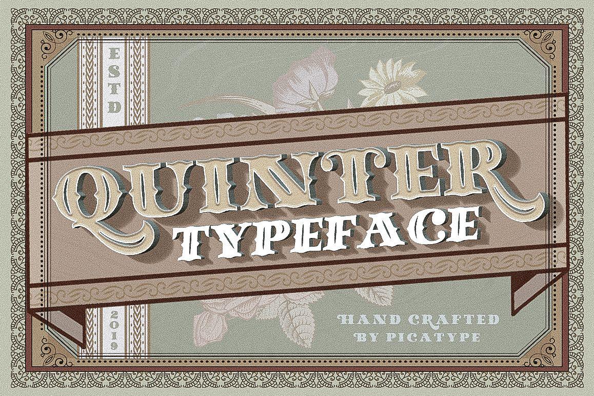 Quinter Typeface example image 1