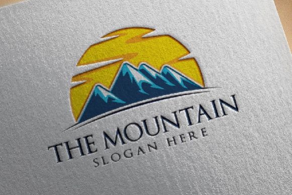 Mountain logo  example image 1