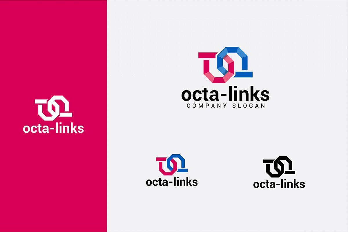 octa-links logo example image 1