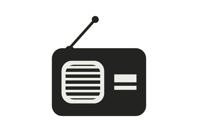 Radio icon example image 1