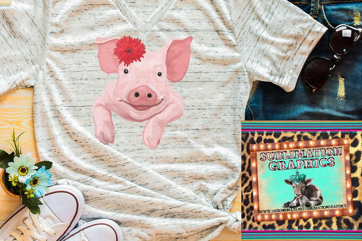 Pig Sublimation Digital Download example image 1