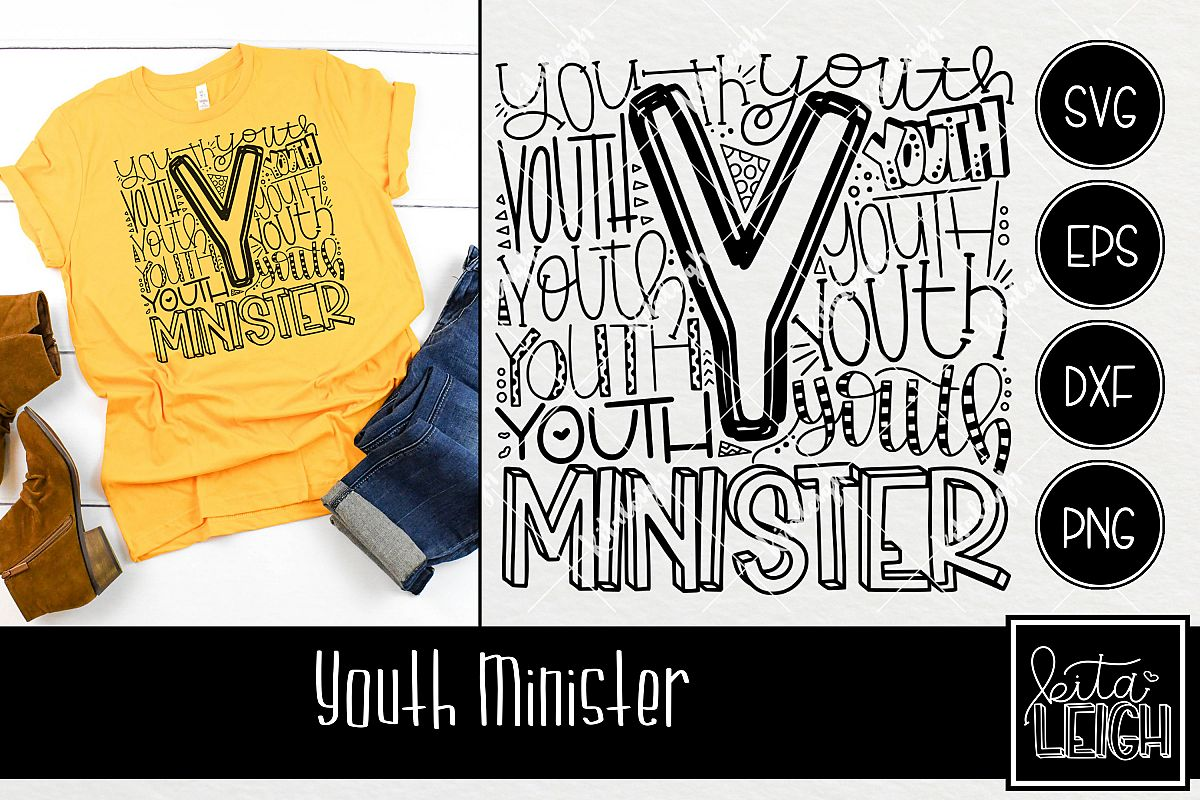 Youth Minister Typography example image 1