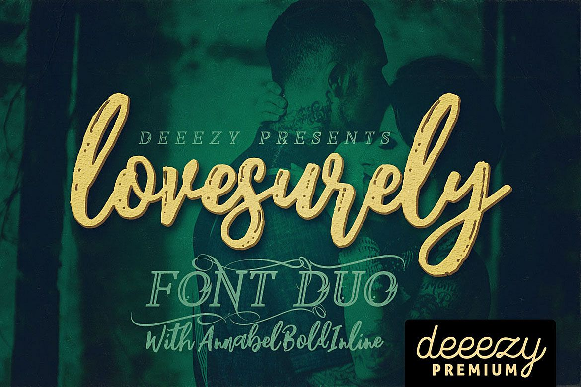 Lovesurely Font Duo example image 1