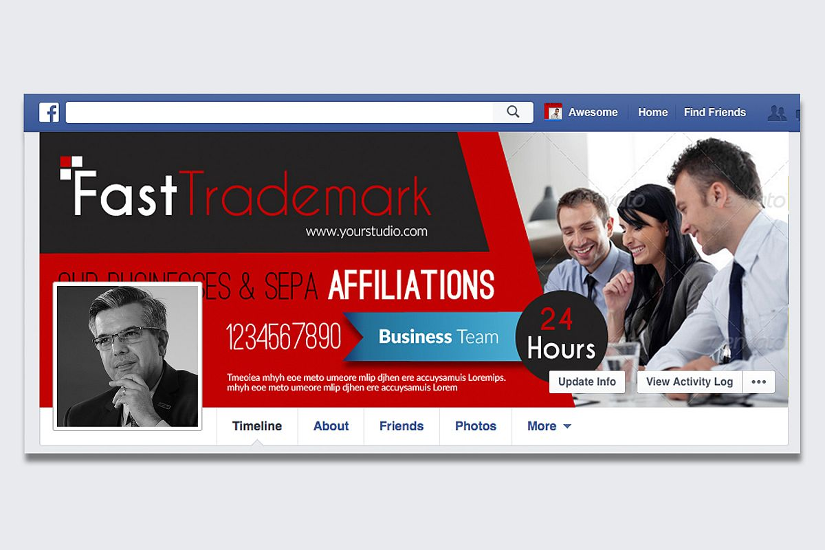 Finance Providing Firm Facebook Timeline example image 1