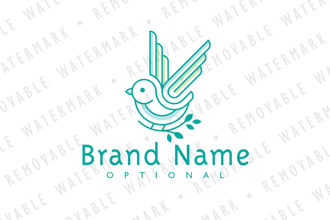Bird of Hope Logo example image 1
