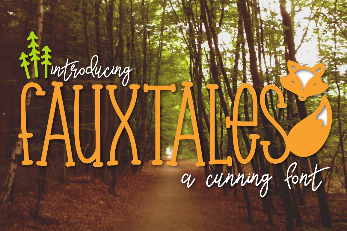 Fauxtales a Cunning Font example image 1