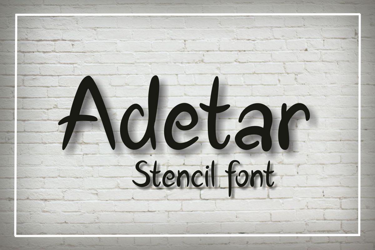 Adetar Stencil example image 1