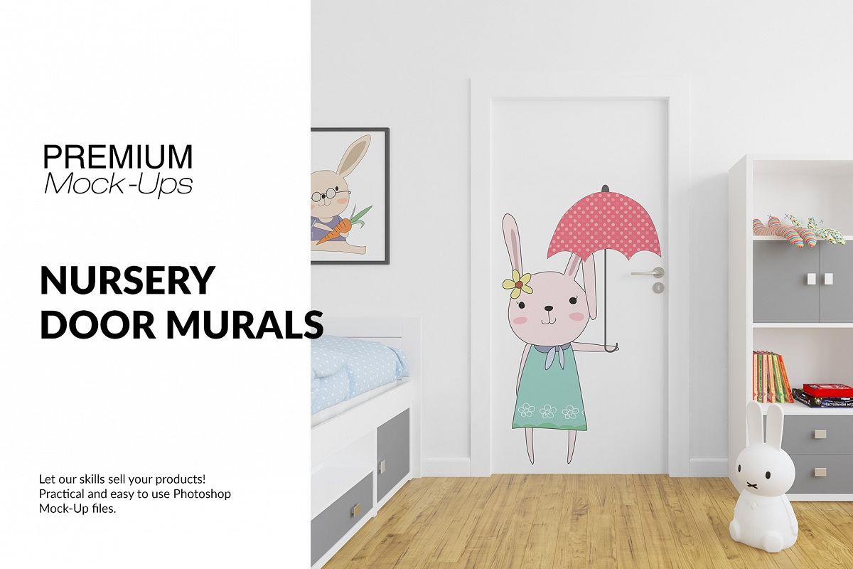 Door Murals in Nursery Set example image 1