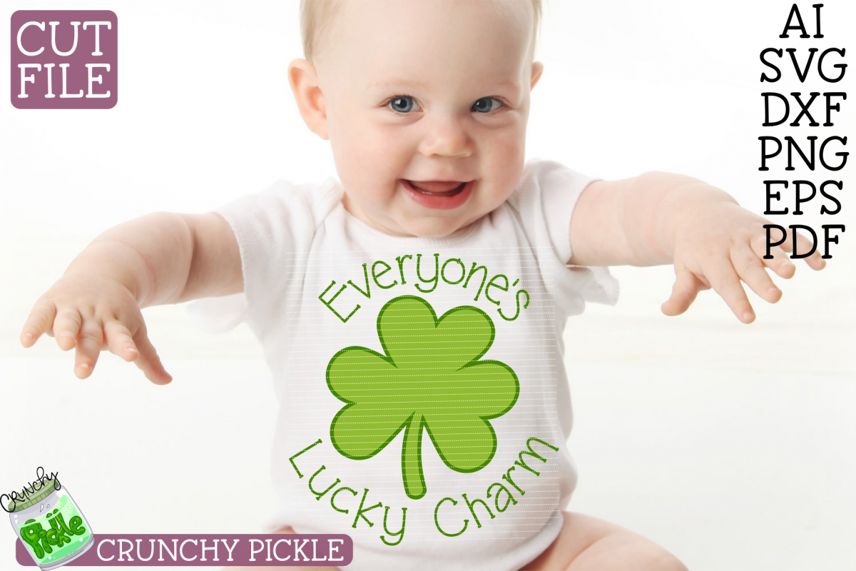Everyone's Lucky Charm - St Patrick's Day SVG File example image 1