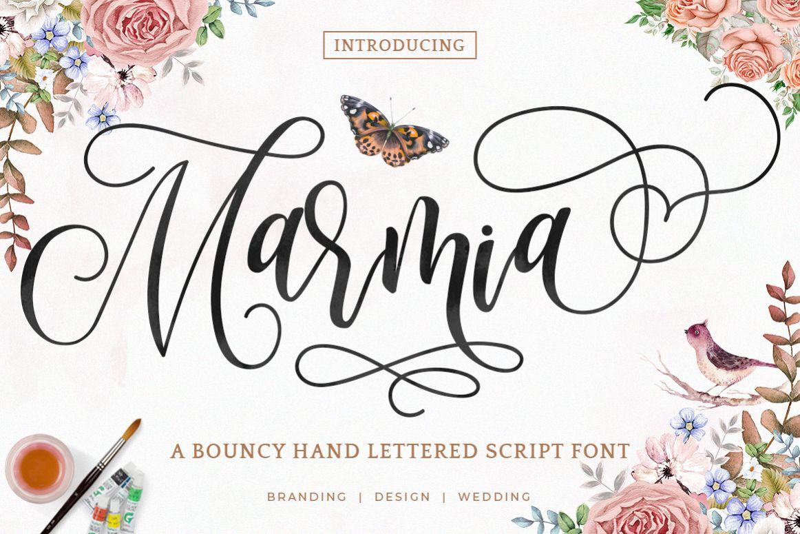 Marmia Script example image 1