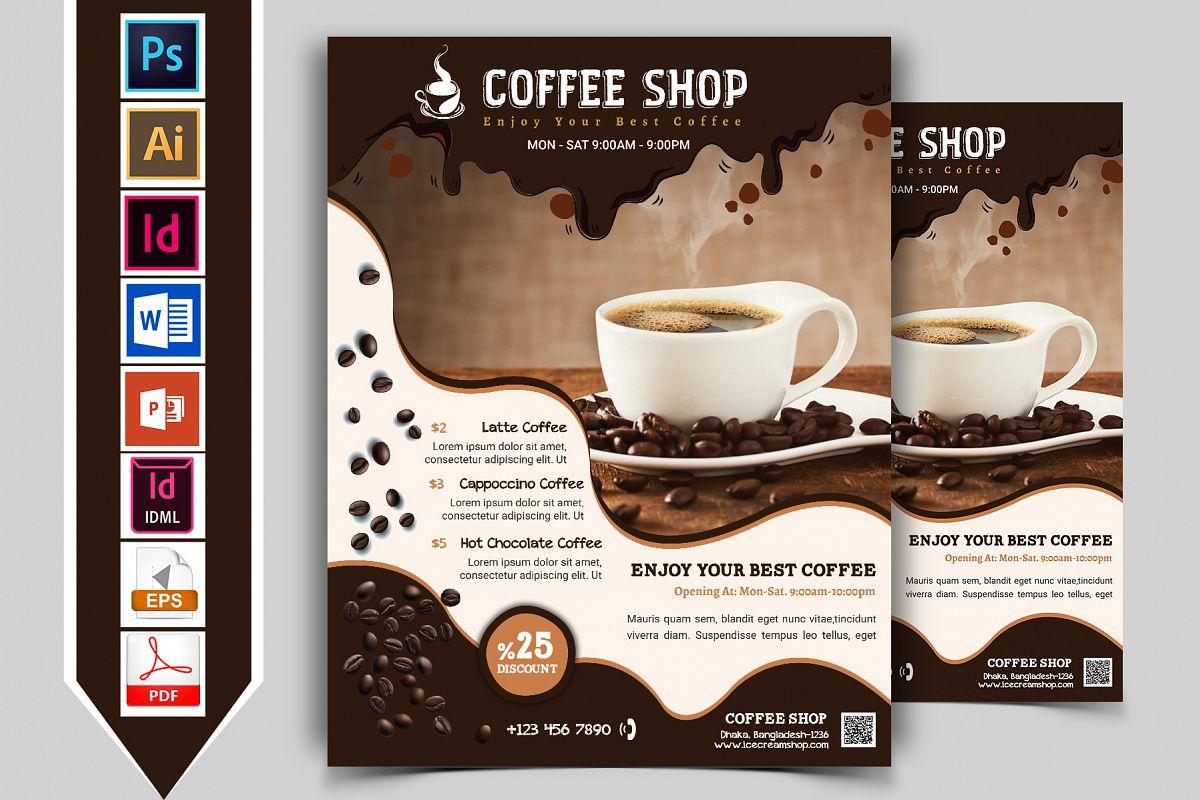 Coffee Shop Flyer Vol-02 example image 1