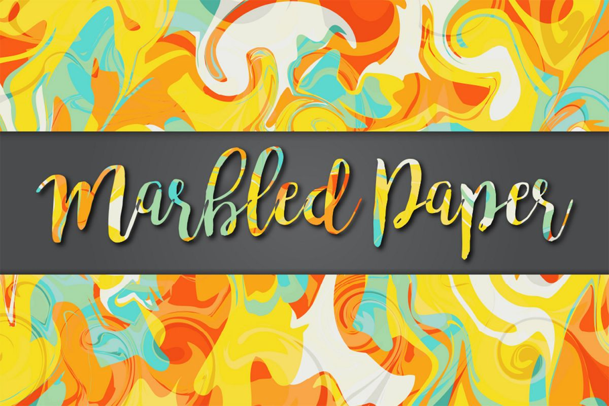 Marbled Paper No10 example image 1