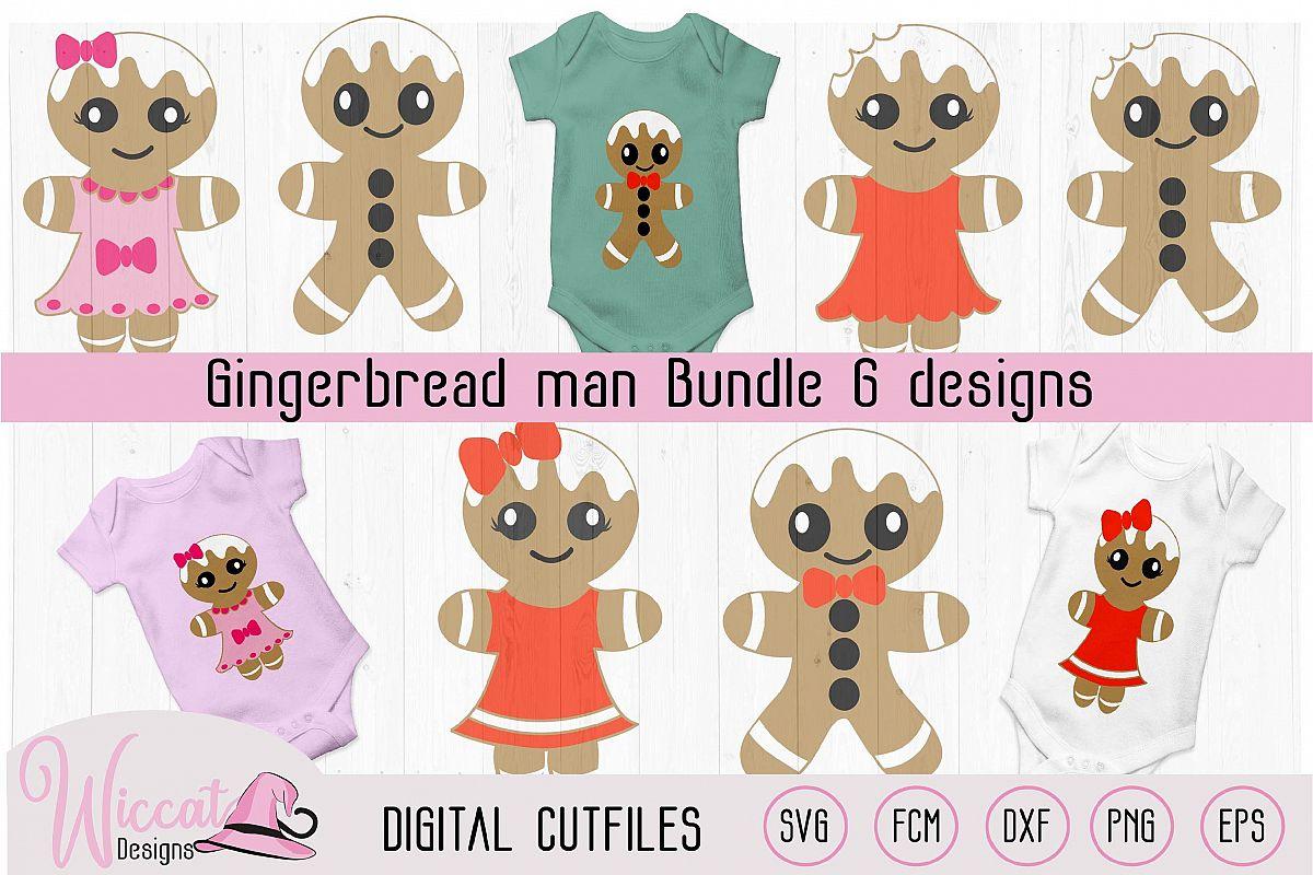 Gingerbread Man bundle, home decoration, example image 1
