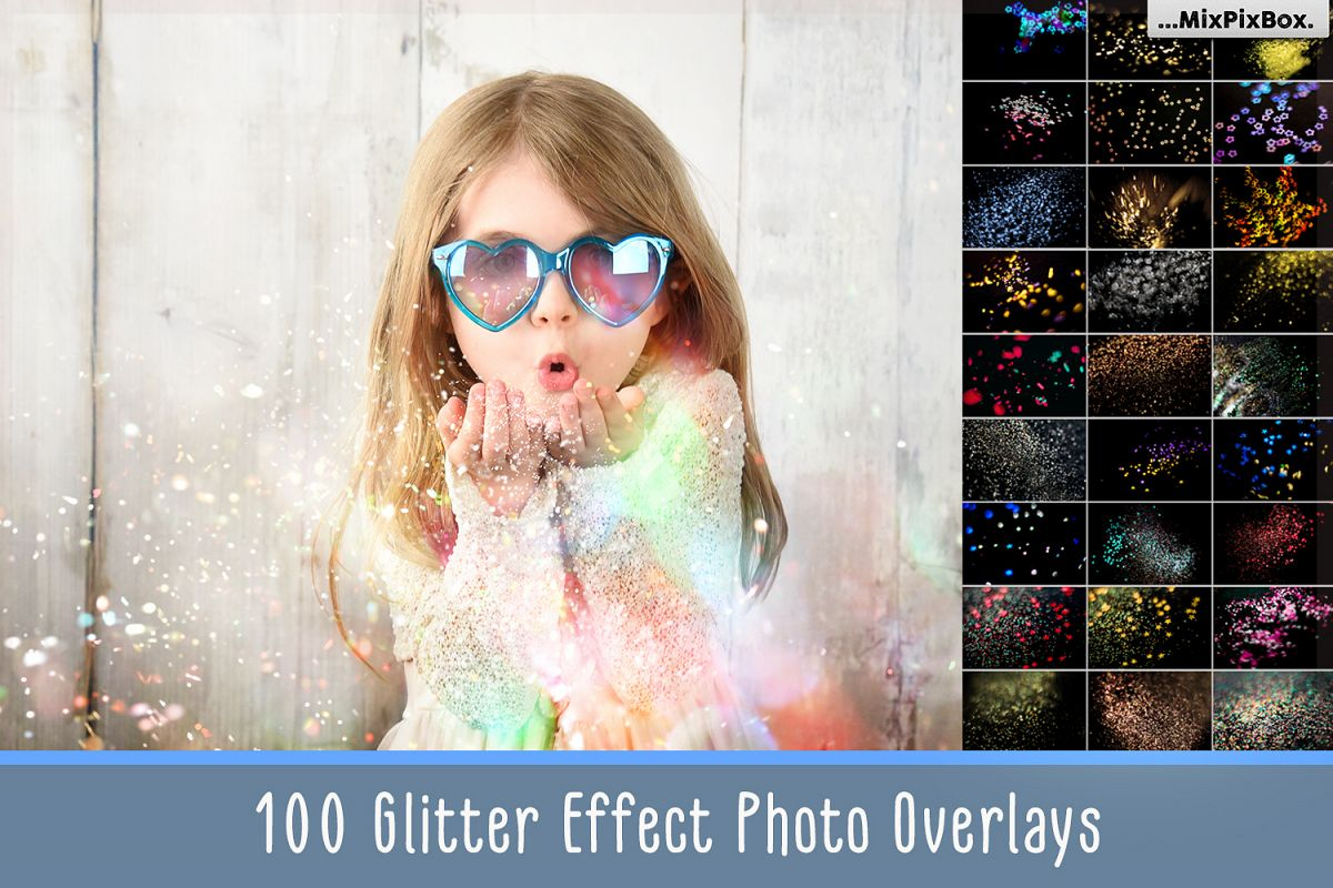 Glitter Effect Photoshop Overlays example image 1