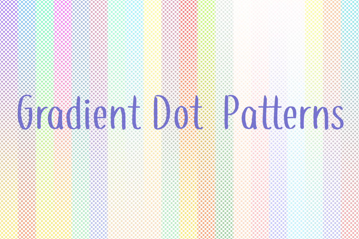 60 Gradient Dot Patterns example image 1
