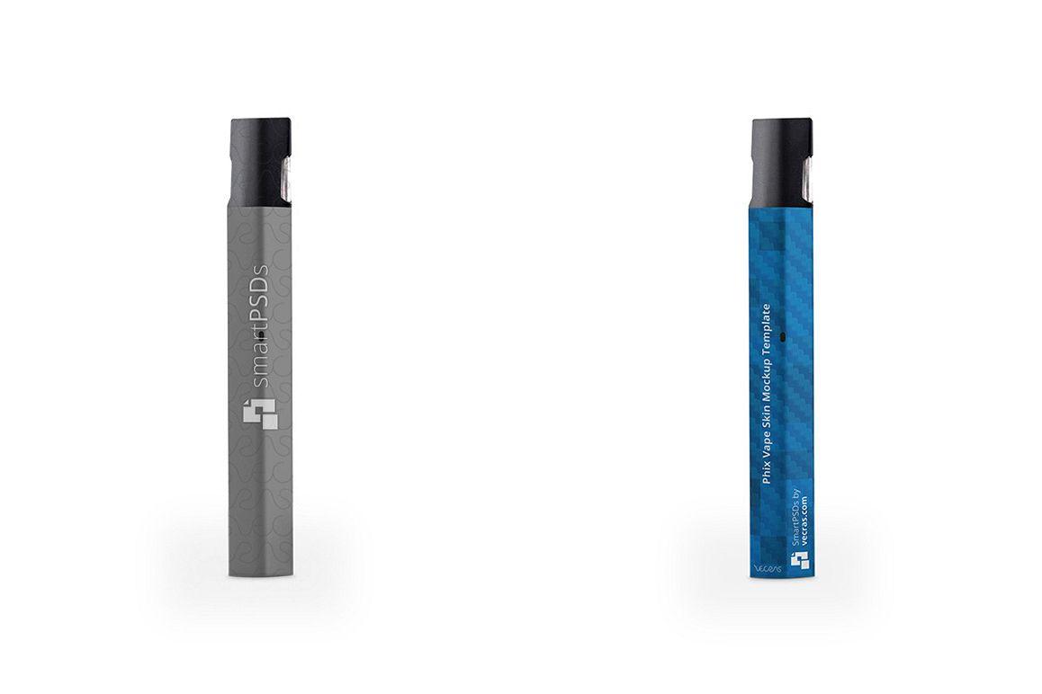phix vape e cigarette vinyl skin design template