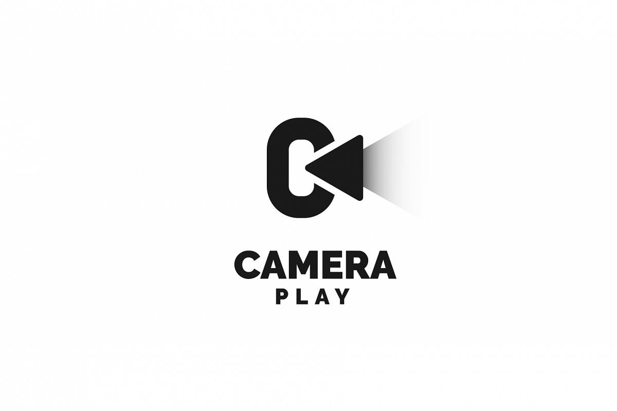 Camera play logo example image 1