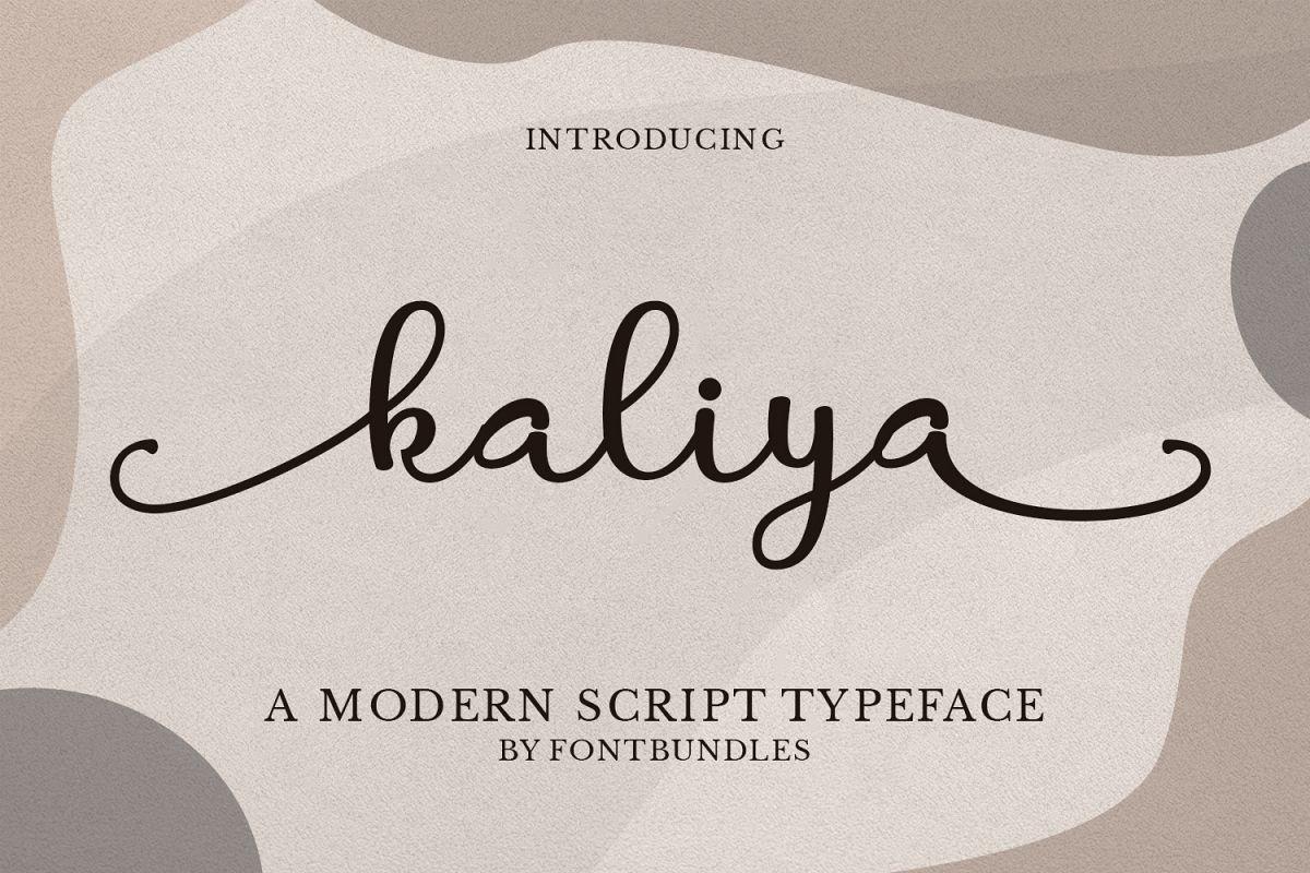 Kaliya example image 1