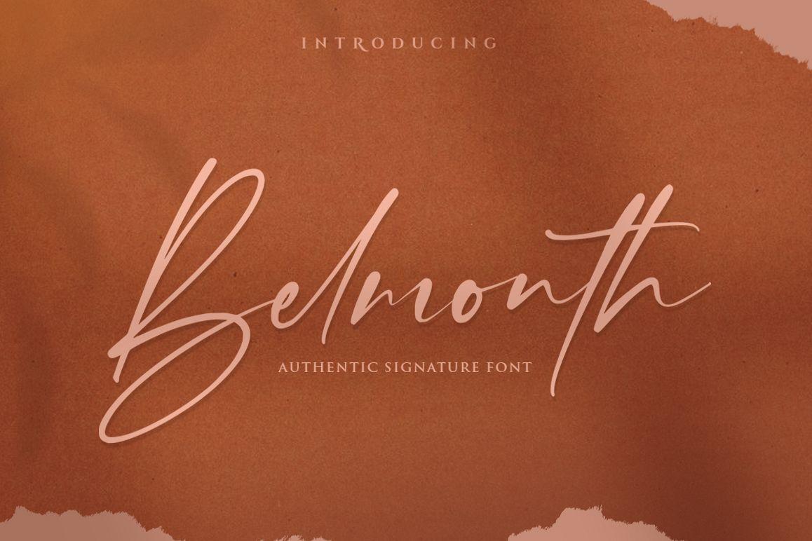 Belmonth / Luxury Script example image 1