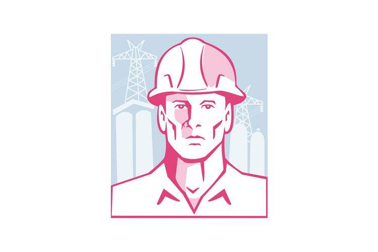 Construction Engineer Worker Hardhat example image 1