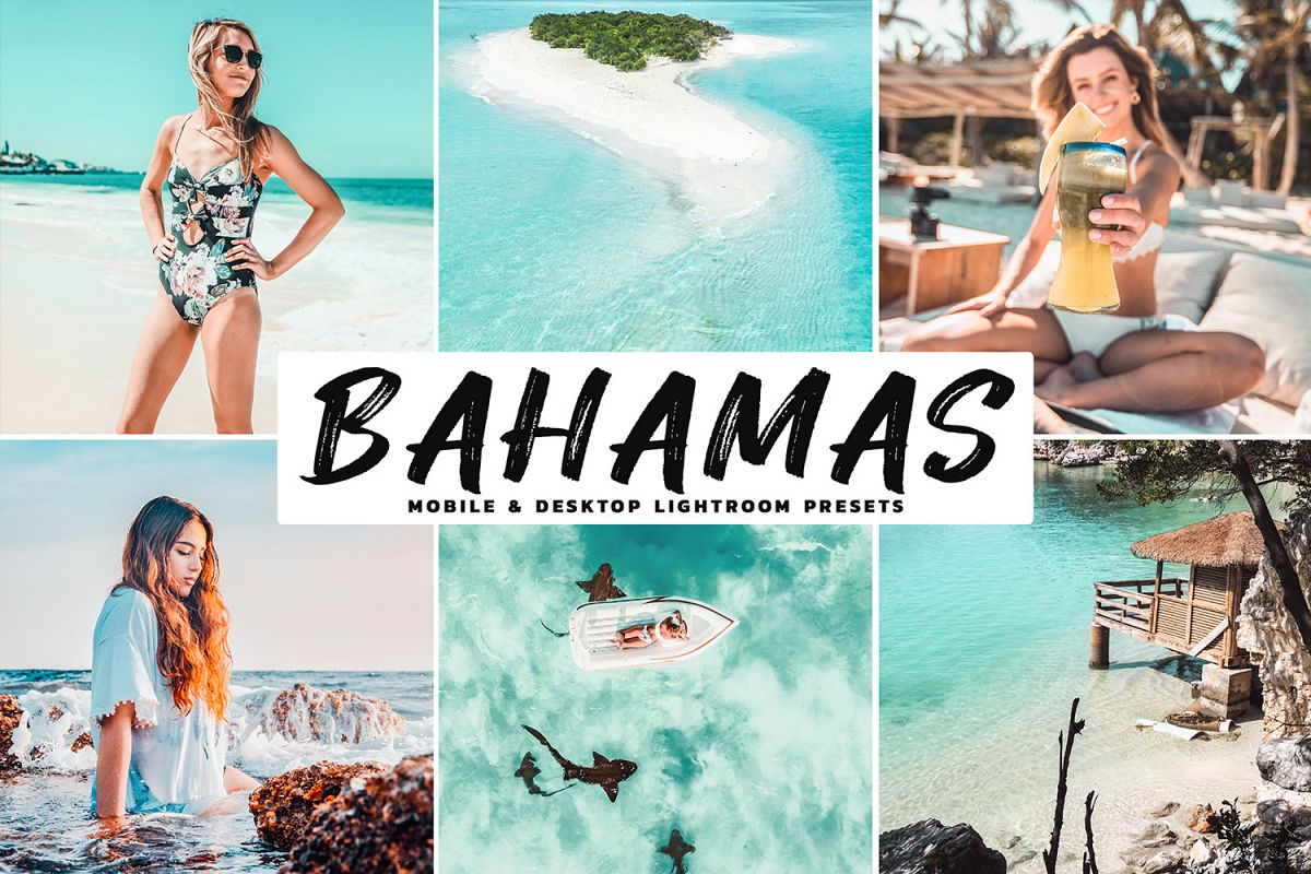 Bahamas Mobile & Desktop Lightroom Presets example image 1