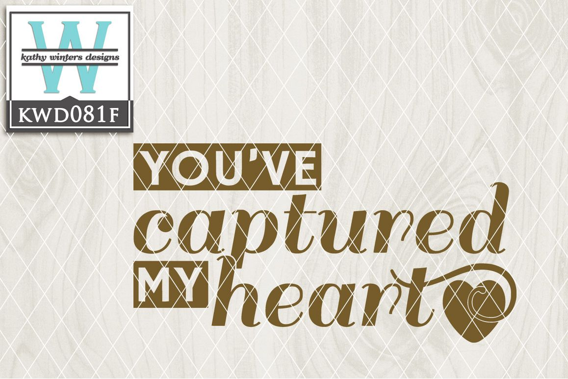 Love Cutting File KWD081F example image 1