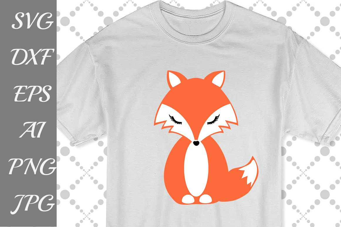 CUTE FOX SVG example image 1