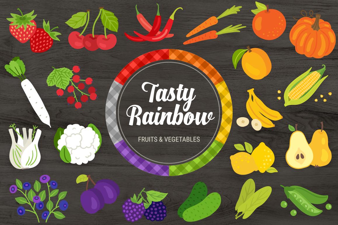 Tasty Rainbow & Bonus Patterns example image 1