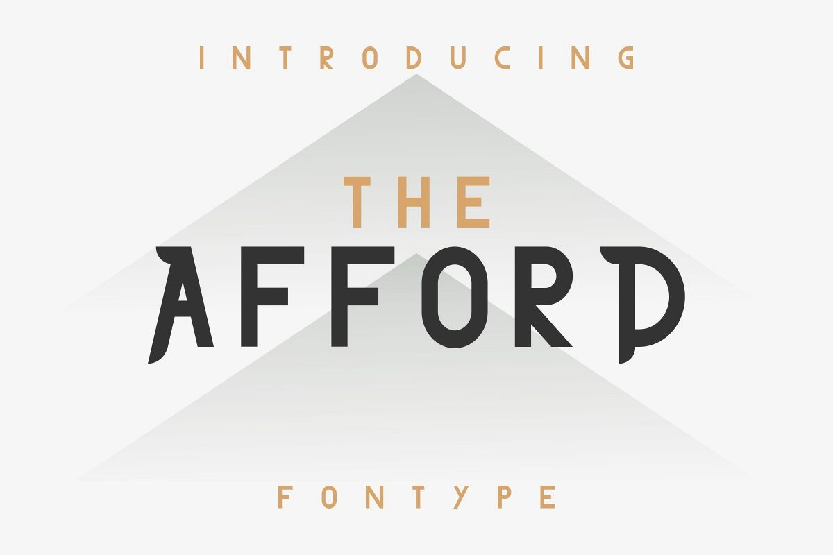THE AFFORD example image 1