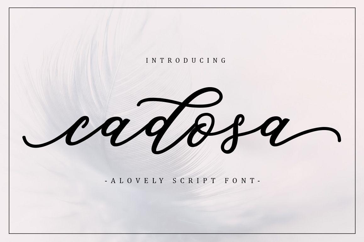 Cadosa Script example image 1