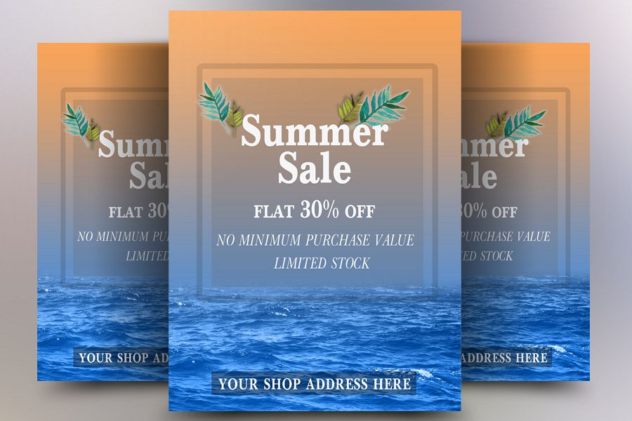 Summer Sale Flyer example image 1