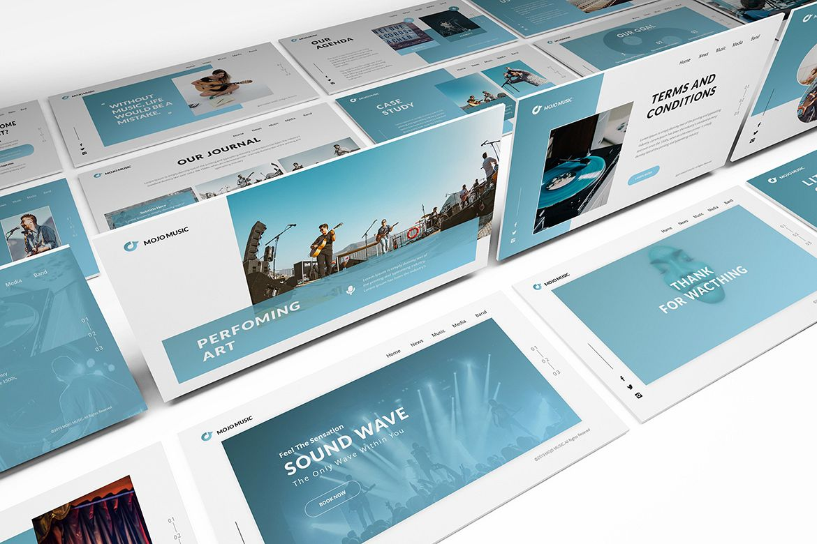 Music Powerpoint Template example image 1