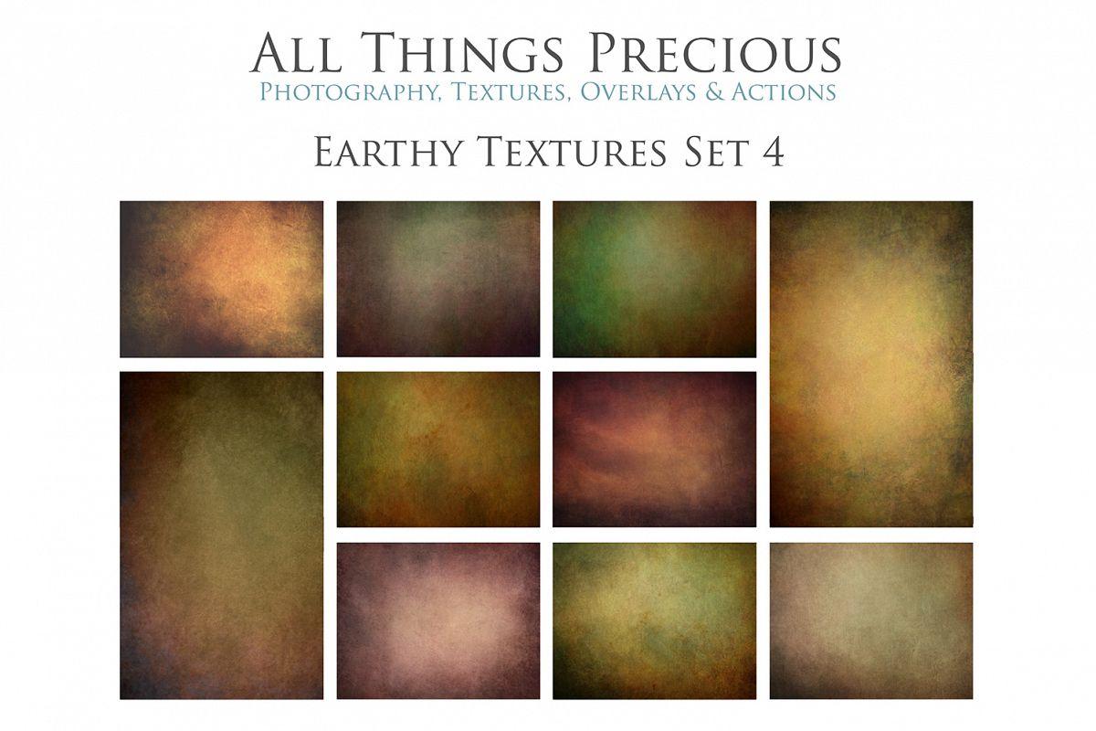 10 Fine Art Earthy Textures SET 4 example image 1