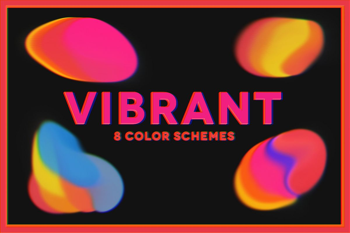 Vibrant - 8 Colors Schemes Pack example image 1