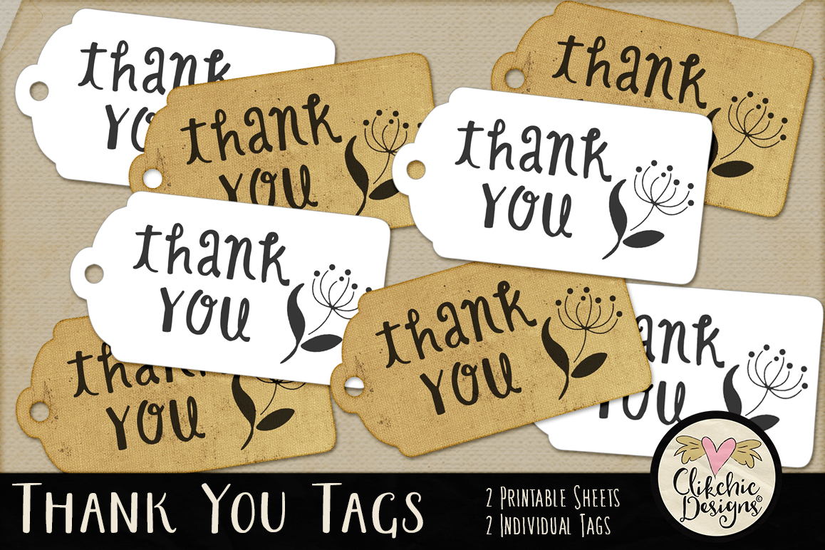 image relating to Printable Thank You Tags identify Printable Thank By yourself Tags