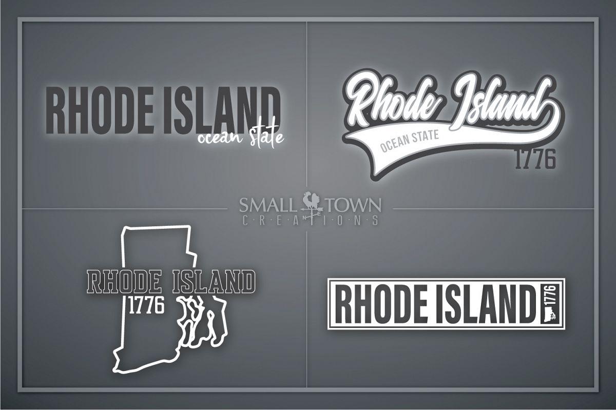 Rhode Island, Ocean State - slogan, PRINT, CUT & DESIGN example image 1