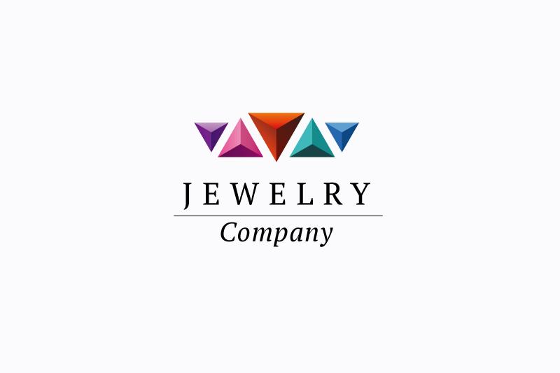 Jewelry company logo example image 1