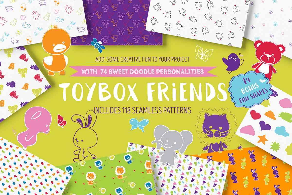 Toybox Friends example image 1